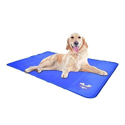 Dog Cooling Pad To Keep Your Dog Cool Extra Large Doglifeworld In 2020 Cool Dog Beds Dog Cooling Mat Dog Cooling Pad