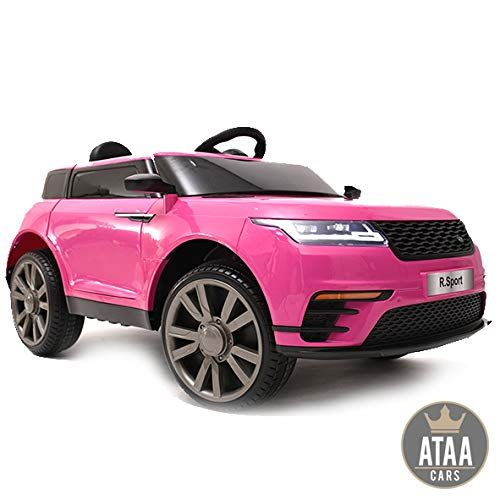 Ataa Cars R Sport 12v Telecommande Rose Voiture Electrique Pour Garcons Et Filles Avec Telecomm Voiture Electrique Enfant Voiture Enfant Voiture Electrique