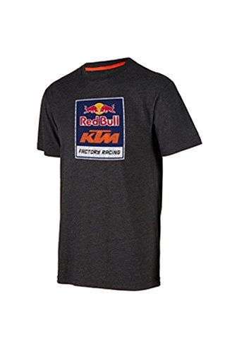 KTM Red Bull Logo Tee Charcoal