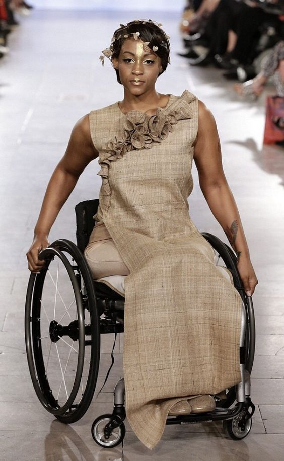 Beautiful disabled model. >>> See it. Believe it. Do it. Watch thousands of spinal cord injury videos at SPINALpedia.com