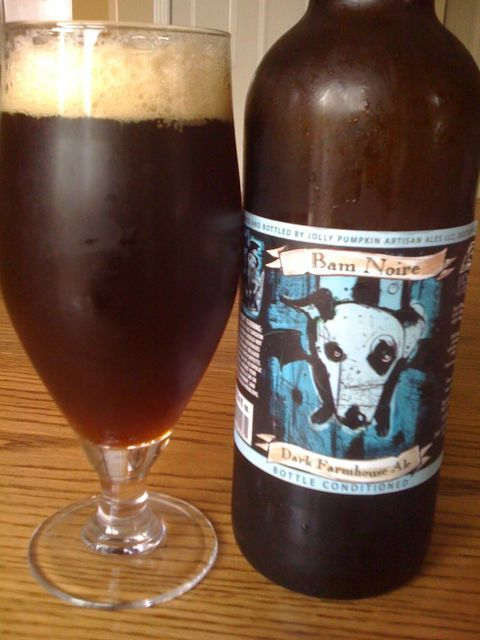 6. Jolly Pumpkin – Bam Noire Dark Farmhouse Ale: