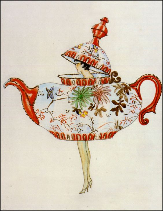 Myra Butterworth — Teapot Woman — ca 1920