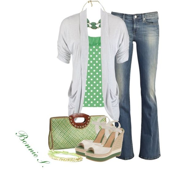 Happy St. Patrick's Day, created by bonnaroosky    outfit