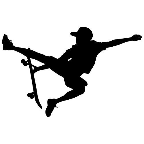 Wall Decal Sticker Skateboarding And Skating On Pinterest