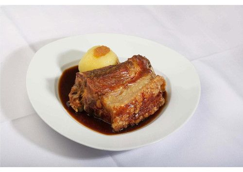 Recipe Franconian Schauferle Pork Shoulder In Beer Sauce In 2020 Recipes Pork Food