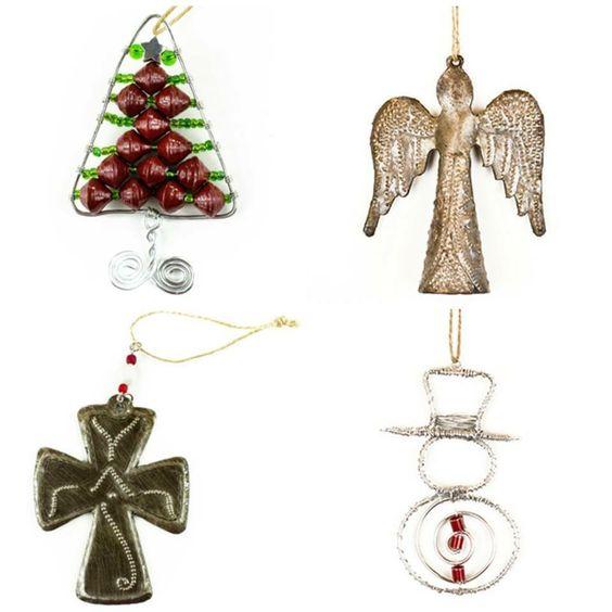 Handmade in Haiti Christmas ornaments  Www.vibellajewelry.com/Gast.family