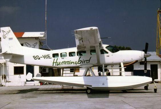 Cessna caravan on floats
