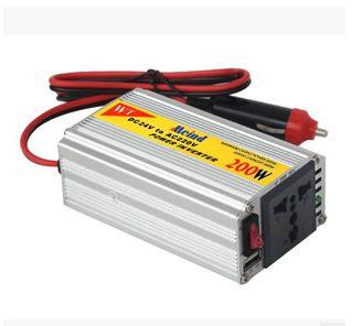 DC24V-AC110V 200W power inverter motor power converter