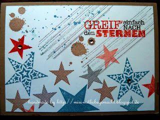Card with Simply Stars, Gorgeous Grunge und alles nur Sprüche.