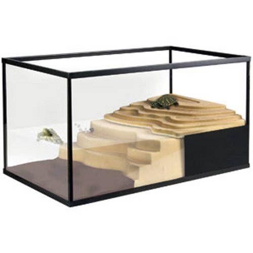 Aquarium Deluxe avec île et filtre inclus Mezo
