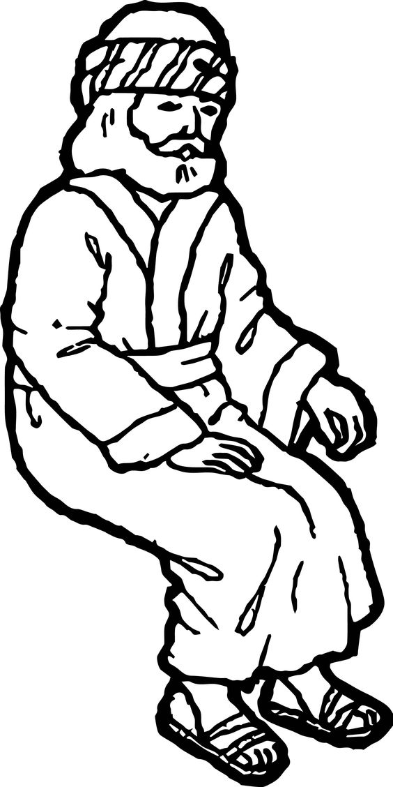 Staying Zacchaeus Jesus Coloring Page Jesus Coloring Pages