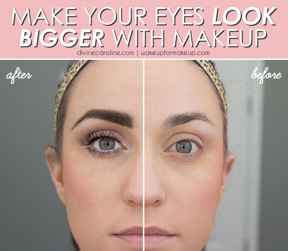 How to make your face look bigger
