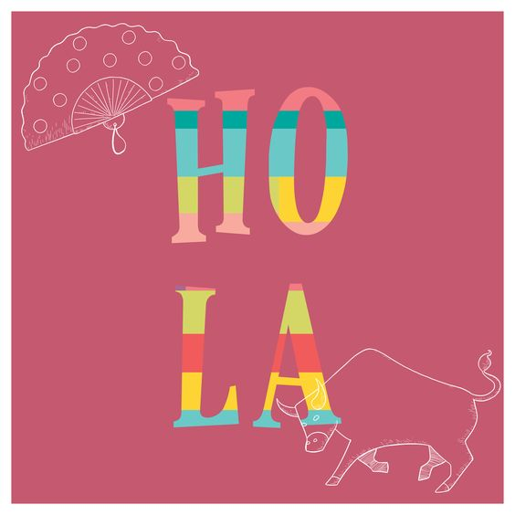 POSTER HOLA
