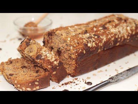 كيك الموز الصحي بالشوفان والعسل وبدون سكر حلقة 95 Youtube Banana Bread Almond Flour Banana Bread Food