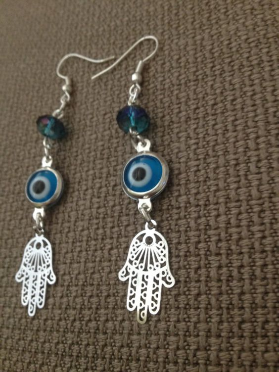 chamsa eye earrings for sale 12.00