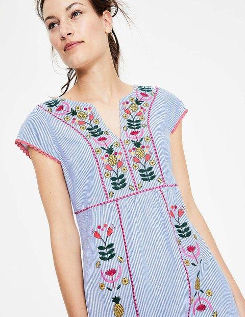 37++ Boden bea linen embroidered dress ideas