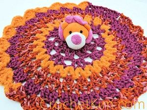 Lion Comfort Toy - Free Crochet Pattern - PatternConnection