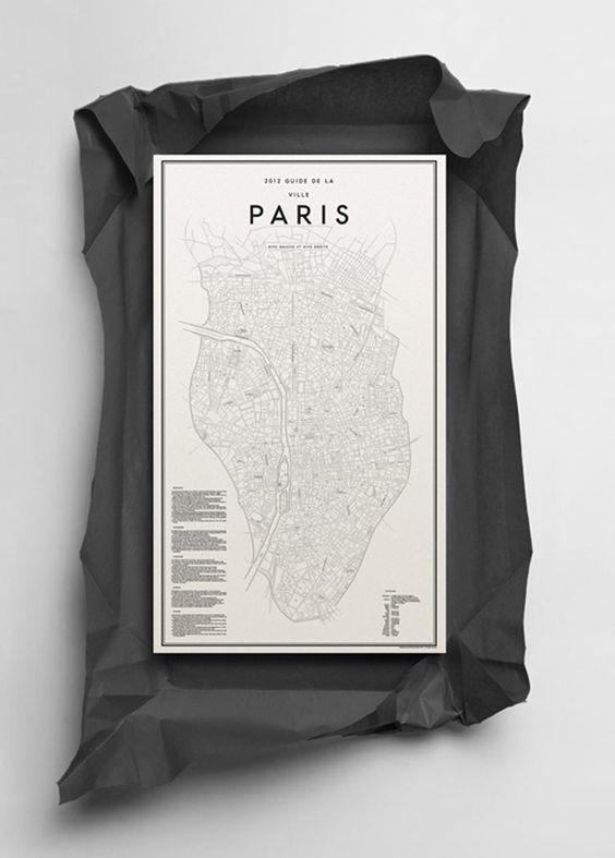 2012 Guide de la ville Paris