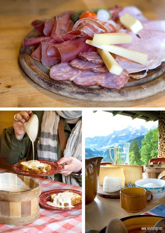 Typisches Schweizer Frühstück