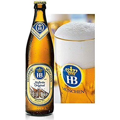Bia HB Hofbrau Munchen Hofbrau Original 5,1% - Chai 500ml
