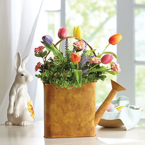 Spring flower arrangements are a natural fit within any Spring flower arrangements for front door