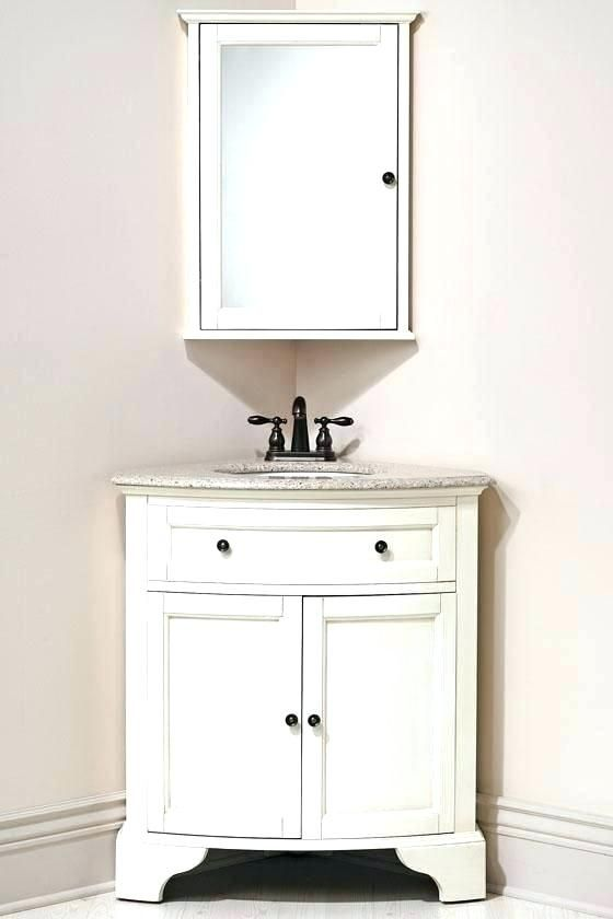 Awesome Corner Bathroom Medicine Cabinet Design Ideas You Ll Discover A Selection Of Kinds Of Cabine Corner Sink Bathroom Corner Bathroom Vanity Corner Vanity