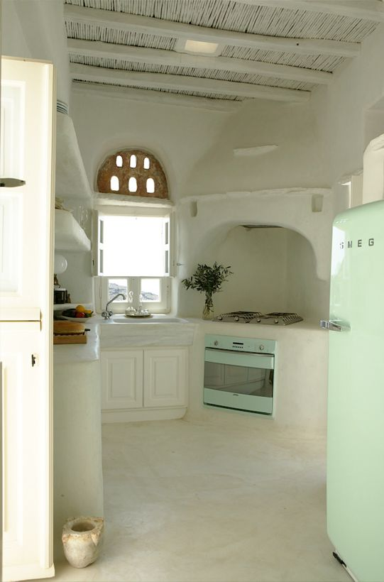 Charming kitchen in Greece