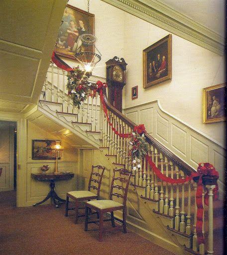 Interior Design Colonial Williamsburg: Virginia, The Ribbon And Hallways On Pinterest