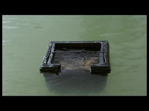 Build a floating pond skimmer diy natural pool for Homemade pond skimmer