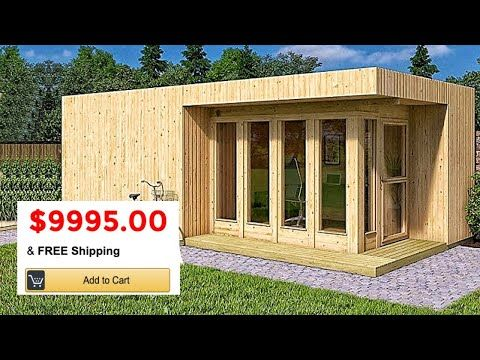 Tiny Manufactured Homes Have Been Growing In Popularity Since 1980 And Literally Exploded In 2016 So Why W In 2020 Manufactured Home Shed To Tiny House Earthship Home