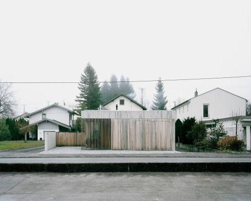 Bechter Zaffignani Architekten - House G,Dornbirn 2014. Via,...
