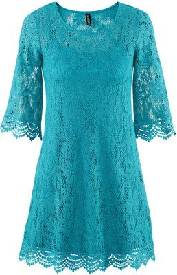 H & M Dress - Turquoise Lace