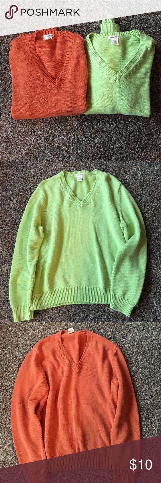 Bundle of never worn sweaters Never worn St.Johns Bay Sweaters Crew & Scoop Necks