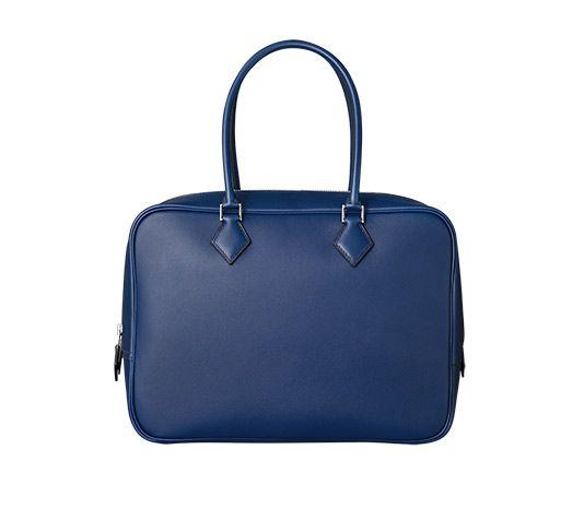 hermes saddle cover - Herm��s Plume Hermes bag in sapphire blue swift calfskin Measures ...