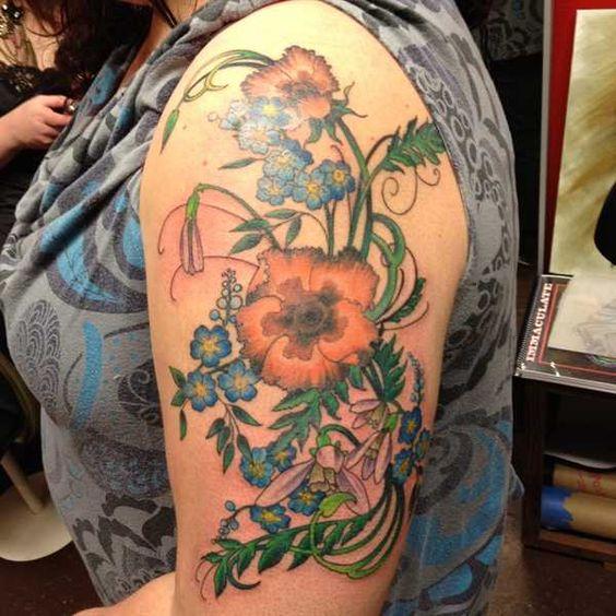 Hidden Hand Tattoo - Erika Jones
