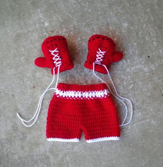 Knitting Pattern Boxing Gloves : Pinterest   The world s catalog of ideas