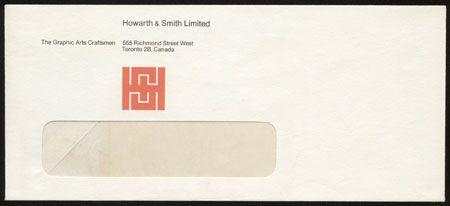 Howarth & Smith envelope