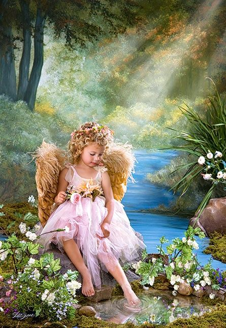 ~ Little Angel by The Pond ~
