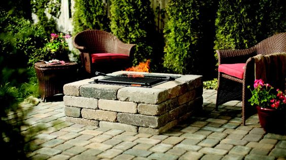 Snapshot of Inspiration: Elegant DIY Patio and Firepit - Home Improvement Blog – The Apron by The Home Depot