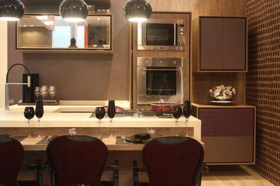 Construindo Minha Casa Clean: Consultoria de Decoração: Apê com cozinha/churrasqueira e banheiro pequeno!