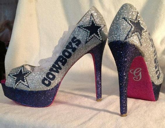 shoes on Pinterest   Dallas Cowboys Heels, Red Bottom Heels and ...