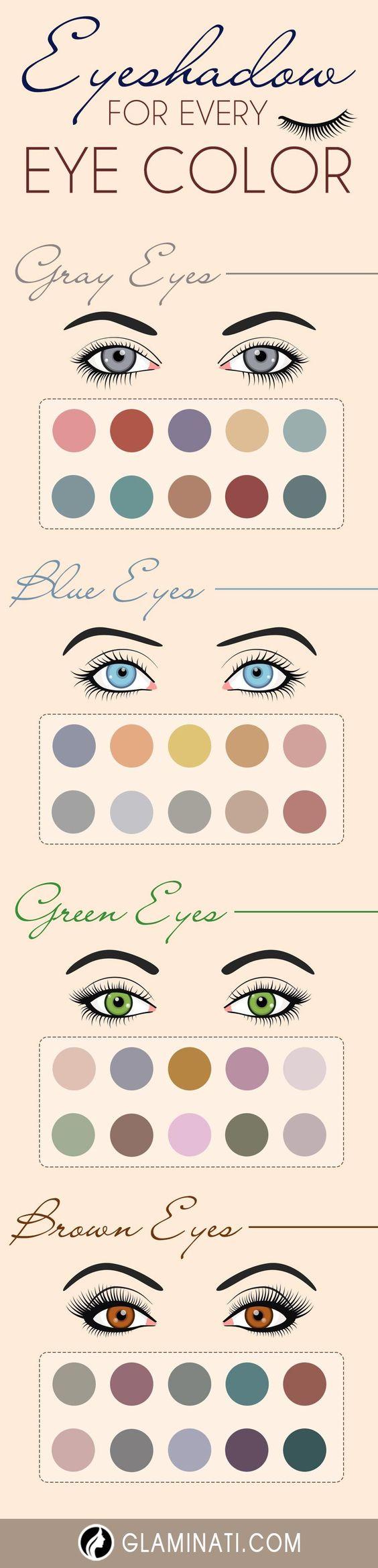 Ways of Applying Eyeshadow for Brown Eyes ★ See more: http://glaminati.com/eyeshadow-for-brown-eyes/