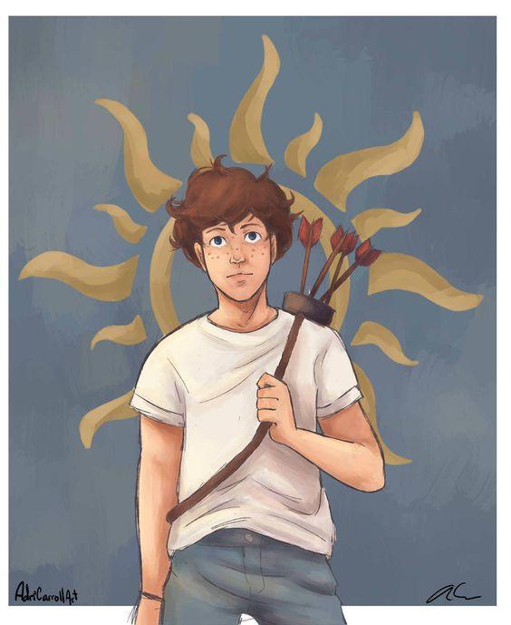 Les Travaux d'Apollon tome 3 : Le piège de feu (Fan art par @adricarrollart)
