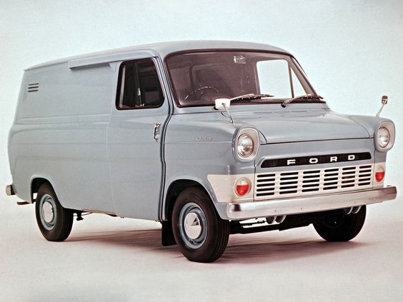 Ford Transit Van From The 1970 S With Images Ford Transit
