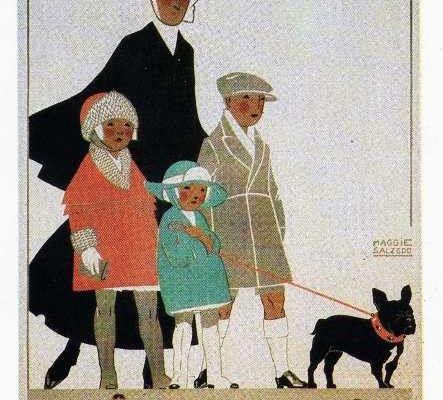 French Bulldog Antique Photographs