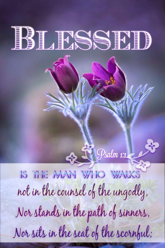 Psalm 1:1: