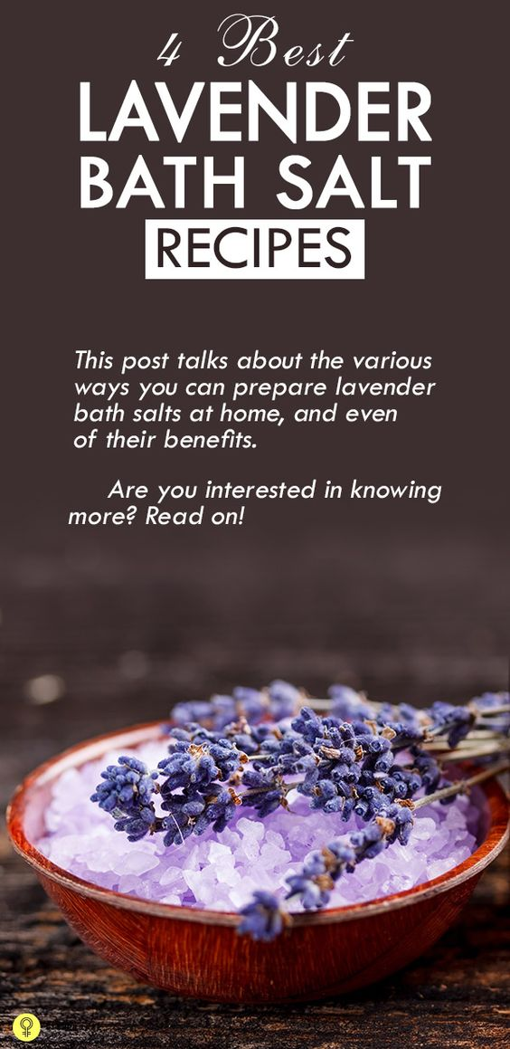Who doesn't love relaxing salt baths, enjoying the soothing fragrance of lavender wafting through the water? How about making lavender bath salts at home? This post