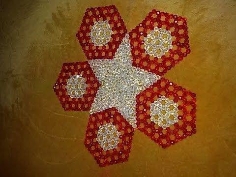 مفارش خرز كريستال أشكال جديدة من تصميمي Beaded Braclets Diy Beads Beading Patterns