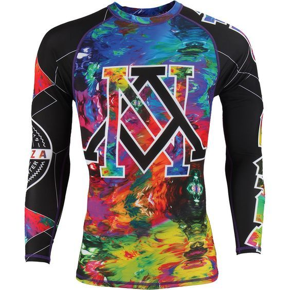 Details about  /Wicked One BJJ Rash Guard Adult Black MMA Compression Top NoGi Grappling Wicked1