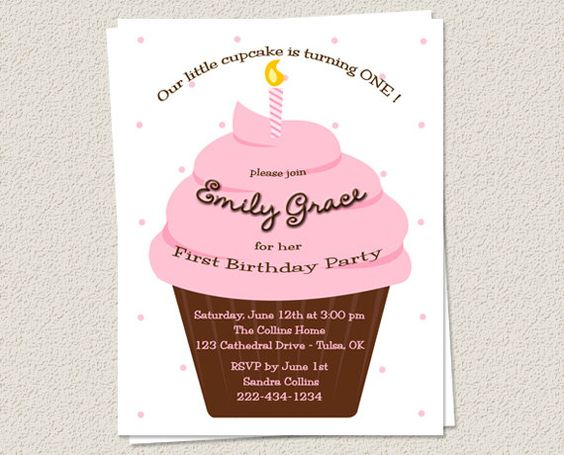 10 Birthday Party Invitations 1st or any age  by EclecticNoteCards, $7.50
